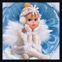 Snow Angel Holidays Ornament Collection: Sets Of Two - Angel Collections - carosta.com