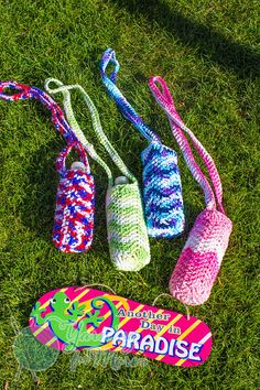 Crochet Chevron Water Sling Water Bottle Covers, Workout Tips, Crochet Ideas, Chevron, Exercise, Knitting, Fitness, Inspiration, Ejercicio