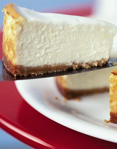 Make a classic New York cheesecake with this easy recipe, perfect for everyday baking and occasions. Find more cake recipes at BBC Good Food. Cheesecake Thermomix, Cheesecake Recipes, Dessert Recipes, Cheesecake New York Recipe, Basic Cheesecake, Easter Cheesecake, New York Style Cheesecake, Gluten Free Cheesecake, Raspberry Cheesecake