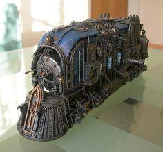 Warhammer 40k Imperial War Locomotor by cyrob on Etsy
