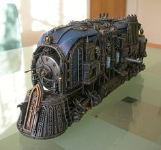 Warhammer 40k Imperial War Locomotor by cyrob on Etsy