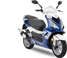 Peugeot Speedfight 3 125 Cc Blue Edition