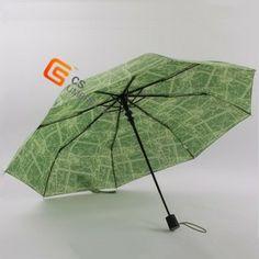 22 inch print cloth fabric auto open umbrella