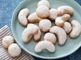 Cooking Channel serves up this Kourambiethes recipe from Michael Symon plus many other recipes at CookingChannelTV.com