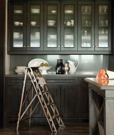 Elegant Grey Cabinets | photo Colin Way | design Nam Dang-Mitchell | House & Home