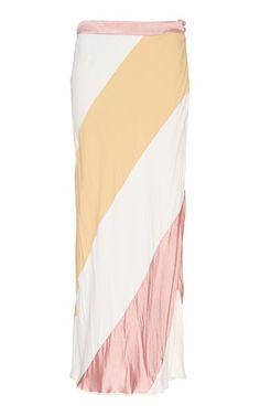 Crepe Satin Midi Skirt by Marni