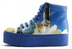 Jeffrey Campbell Hiya Space Shuttle Blue Platform Sneakers Lita Homg Luis Zomg | eBay Wedge Sneakers, Platform Sneakers, Space Shuttle, Jeffrey Campbell, Rubber Rain Boots, Wedges, Blue, Shoes, Style