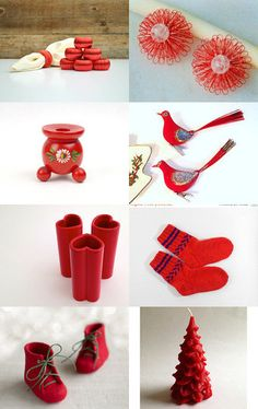red finds by decoratore on Etsy--Pinned with TreasuryPin.com