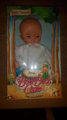Rare Hornby Boo Boos Care Baby Twinkle Doll & Pixie. Mabel Lucie Attwell BNIB | 68+5.7
