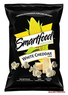 Smartfood Popcorn White Cheddar 9 Oz Save With Combined Shipping White Cheddar Popcorn, White Cheddar Cheese, Cheese Popcorn, Gourmet Recipes, Snack Recipes, Snacks, Smartfood Popcorn, Potato Chip Flavors, Accessories