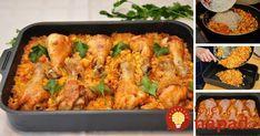Ak nemáte náladu ani čas vymýšľať zložité jedlá, poradíme vám, ako pripraviť veľmi chutné a jednoduché jedlo. Pripravte chrumkavé kuracie stehienka so zeleninou a ryžou.