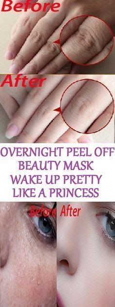 Overnight Peel Off Beauty Mask, Wake Up Pretty Like A Princess There are plenty of skin care products on the market which are loaded with c...