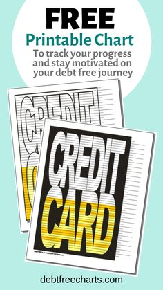 Credit Card - Finance tips, saving money, budgeting planner Savings Chart, Loans For Bad Credit, Money Saving Challenge, Student Loan Debt, Debt Payoff, Debt Free, How To Stay Motivated, Budgeting, How To Plan