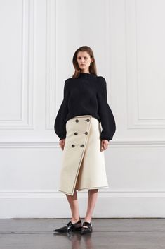 Gotta love a unique sweater!  Victoria Beckham Resort 2016 - Collection - Gallery - Style.com