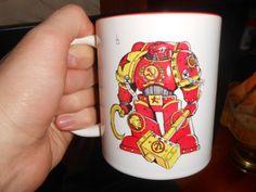 Soviet space marine mug, warhammer 40000 by warhammerstore. Explore more products on http://warhammerstore.etsy.com