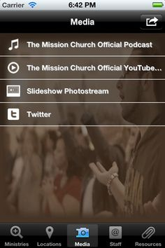 MC Mobile App for Mission Church in New York #church #app