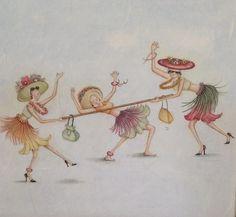 38-Mignonnes illustrations de B.Parker