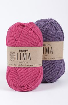 DROPS пряжа Lima colour  Классическая, не супервош, 200 м / 100 гр