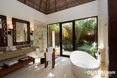 Sexiest Bathrooms in the Caribbean - Viceroy Riviera Maya