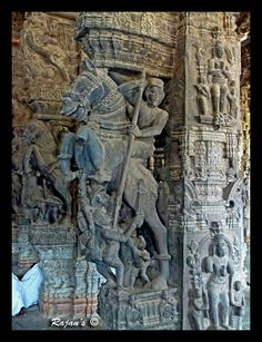 https://flic.kr/p/dMNapj   Horse warrior- Varadharaja Perumal Temple- Kancheepuram