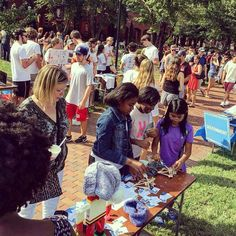 We loved seeing you at #orgfaire. Come see us again this Friday for ice cream competitions music and more at #Hubabaloo!