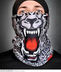 Neck warmer Wolface - wolf