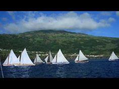 Regatas de Botes  Baleeiros na ilha do Pico Açores