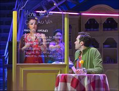 Just In! Check Out the Enchanting First Pics of Samantha Barks and Adam Chanler-Berat in Amélie - Photo - Playbill.com
