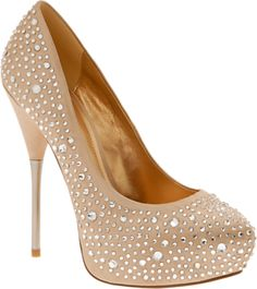 I have some Gianni Bini peep toe pumps similar to these and I love them!