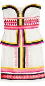 Sass & bidePick 'N' Mix embroidered strapless dress