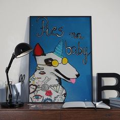 Plakat Pies na baby - rozmiar - Pakamera. Babe, Presents, Snoopy, Fictional Characters, Gifts, Favors, Fantasy Characters, Gift