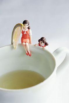 Kawaii Cup Accessory, named Fuchiko-san (Japan Product)|コップのフチ子さん