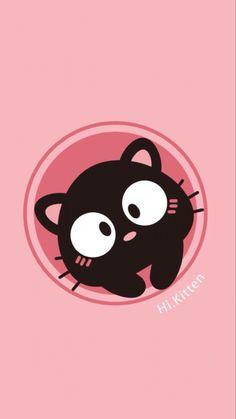 猫猫 Cellphone Wallpaper, Iphone Wallpaper, Kawaii Cute, Aesthetic Wallpapers, Chibi, Cute Animals, Snoopy, Kitty Kitty, Drawings
