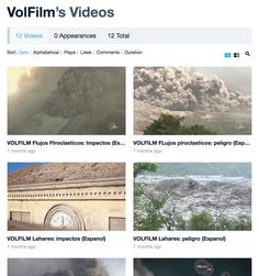 VolFilm's Videos on Vimeo Pyroclastic Flow, S Videos, Volcanoes, Films, Platform, Number, This Or That Questions, Life, Movies