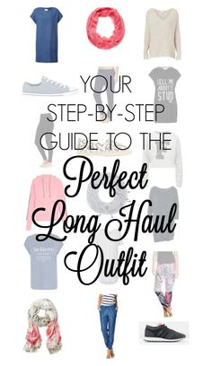 Your step-by-step guide to the perfect long haul outfit - Escape With Kids - Spending upwards of 8 hours sitting in a plane poses some unique challenges. Comfort is definitely first and foremost, but a girl's got to maintain her standards. Combining comfort and style is the key.