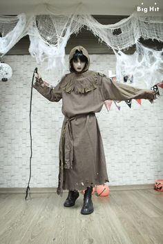 [Picture/FB] Starcast Bangtan Room / Halloween Chapter [141103]