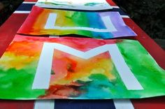 Easy art project. Repinned by playwithjoy. For more pre-k activity pins visit pinterest.com/playwithjoy