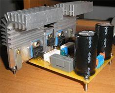 c7ae981b2609 450x366 Amplificador simples com 100W de potência com transistor circuito audio circuito circuito amplificador