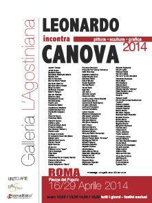 Leonardo incontra Canova Galleria L'Agostiniana Roma