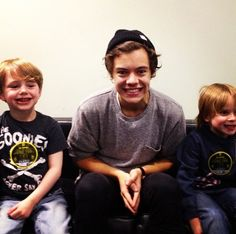 Harry Styles and his 4 year old grin