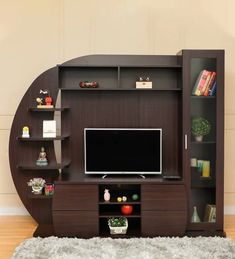 Living Room Tv Showcase Design For Home Bedroom Tv Unit Design, Tv Unit Furniture Design, Living Room Tv Unit Designs, Tv Furniture, Steel Furniture, Industrial Furniture, Tv Unit Decor, Tv Wall Decor, Tv Cupboard Design