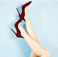 All you need for a Christmas look. Louboutin Pumps, Christian Louboutin, Christmas Shoes, Xmas Wishes, Bordeaux, Stiletto Heels, Collection, Women, Fashion