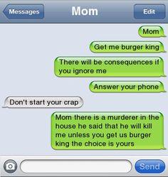 Get me burger king