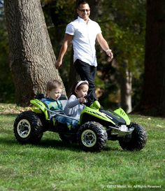 Hit the road this summer … in a Power Wheels® battery-powered ride-on!