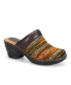 Take a look at this Brown & Rust Lissandra Clog by Softspots on #zulily today!