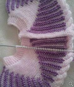 yoke set up for baby sweater Easy Knitting Patterns, Knitting Stitches, Knitting Designs, Baby Knitting, Crochet Patterns, Yarn Projects, Knitting Projects, Sweater Design, Baby Sweaters