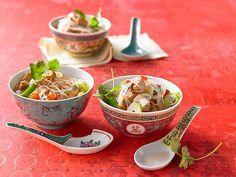 Bihun - Suppe mit Glasnudeln