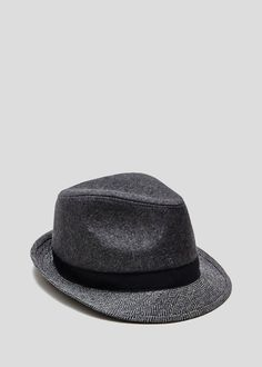 83e507e4 Herringbone Trilby Gant Chat, Trilby Hat Men, Funeral Outfit, Matalan,  Outfits With