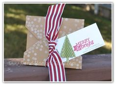 create fun festive holiday packages for those adorable gifts for everyone with http://www.handstampedstyle.com Gifts Galore Class (local, by mail, or online options available)