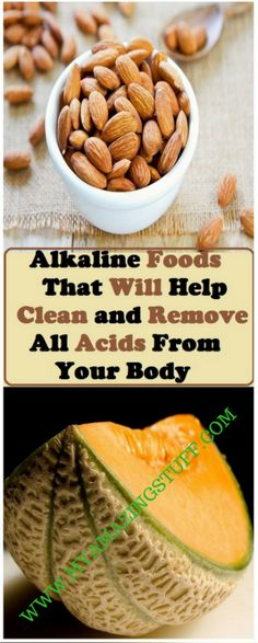 9 Alkaline Foods That Will Help Clean and Remove All Acids From Your Body - My Amazing Stuff